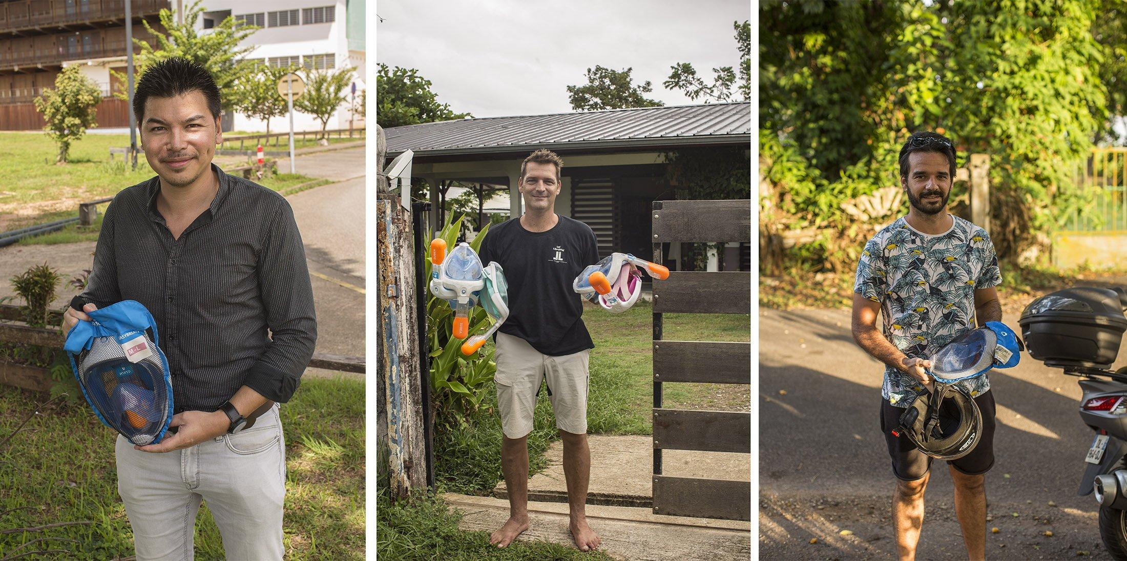 Merci aux contributeurs qui ont fait don de leurs masques en Guyane